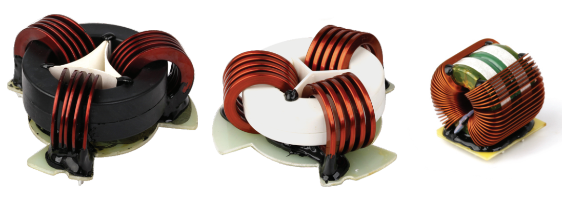 High Power Inductor With Flat Wire-1